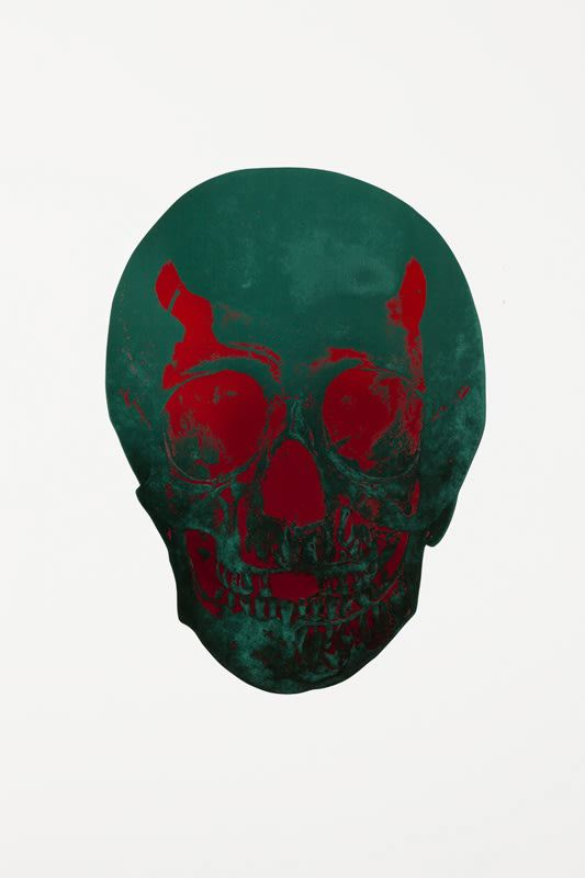 The Dead - Racing Green/Chili Red